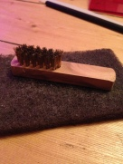 Copper Brush and Pad