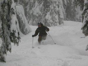 Great powder snow