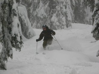 Great powder snow