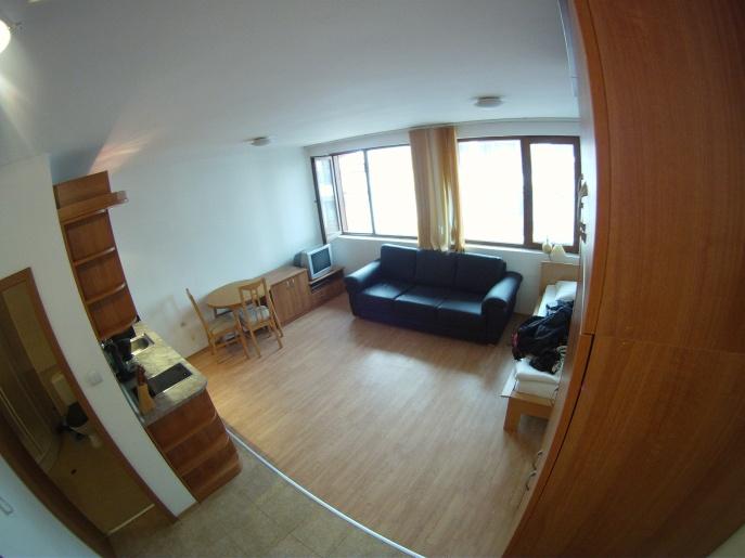 GoPro View from door