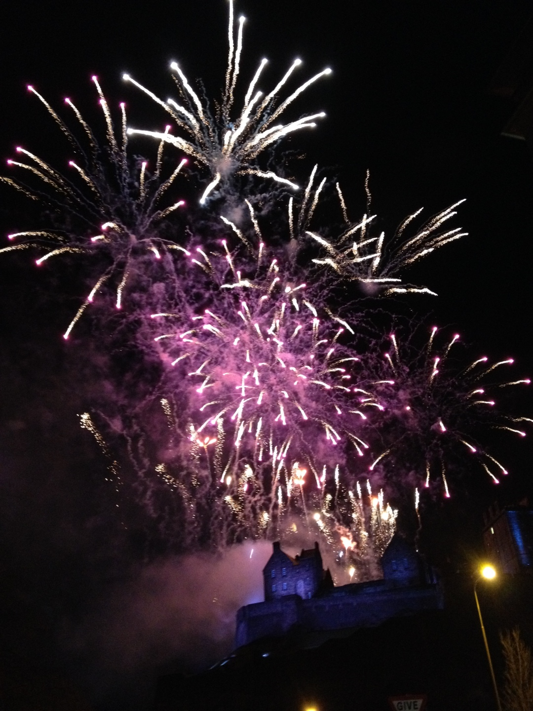 Edinburgh Castle - Hogmanay