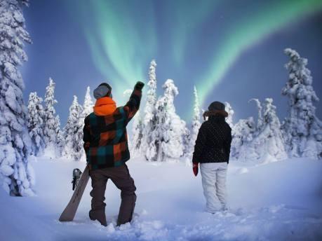 Northern Lights (credit : http://ski.ruka.fi/eng/)