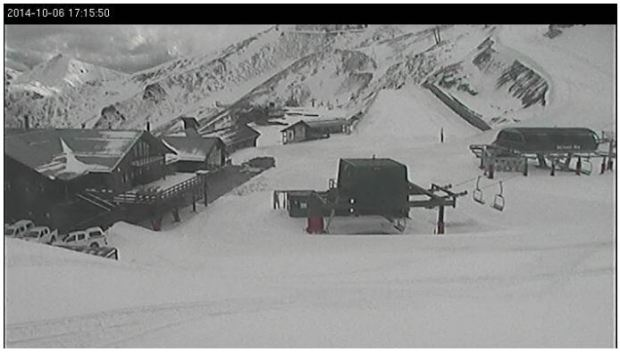 Mt Hutt (New Zealand) webcam image sourced from (http://nzski.com/mountain-webcams)