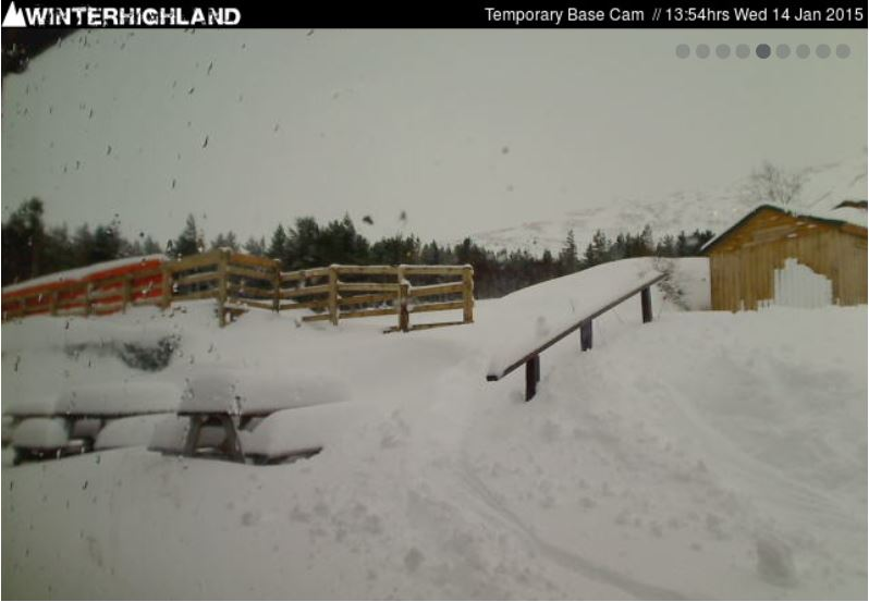 Glencoe base station Webcam (care of winterhighland.info)